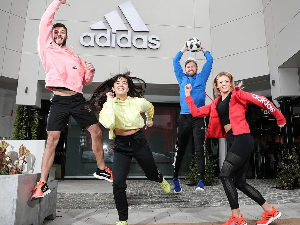 adidas store opening at Harbour Town Premium Outlets Adelaide